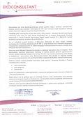 Internetowa platforma ERP dla firmy doradczej - list referencyjny