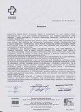 System Planowania Czasu Pracy - list referencyjny